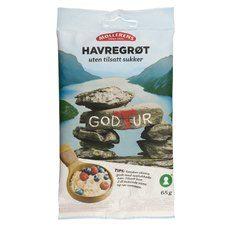 Møllerens God Tur Havregrøt uten Sukker