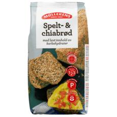 Møllerens Spelt- & chiabrød