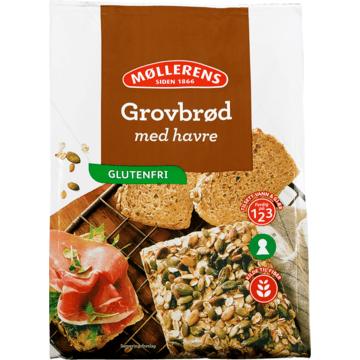 Møllerens Grovbrød med havre, glutenfri
