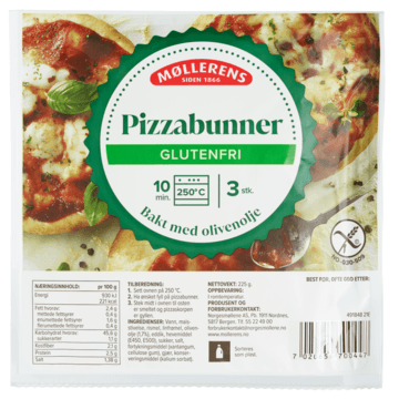 Møllerens Pizzabunner