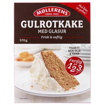 Møllerens Gulrotkake med glasur
