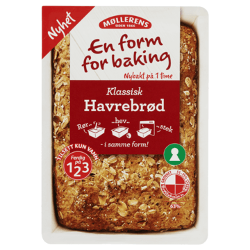 Møllerens Havrebrød - En Form For Baking