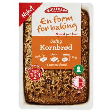 Møllerens Kornbrød - En Form For Baking