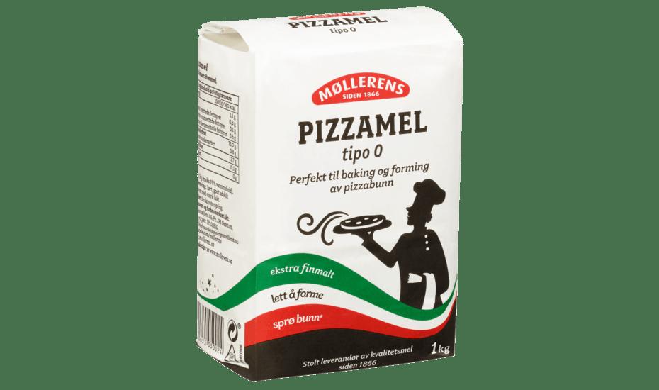 Møllerens Pizzamel Tipo 0