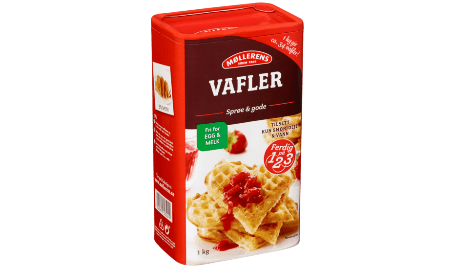 Møllerens Vafler, fri for