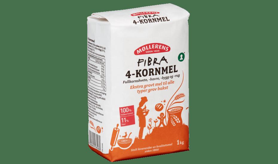 Møllerens Fibra 4-Kornmel