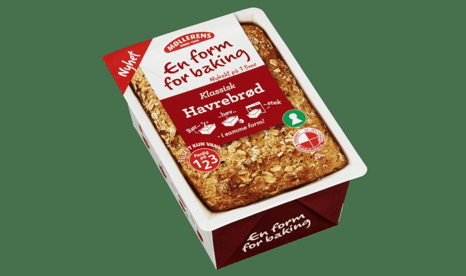 Møllerens Havrebrød - En Form For Baking