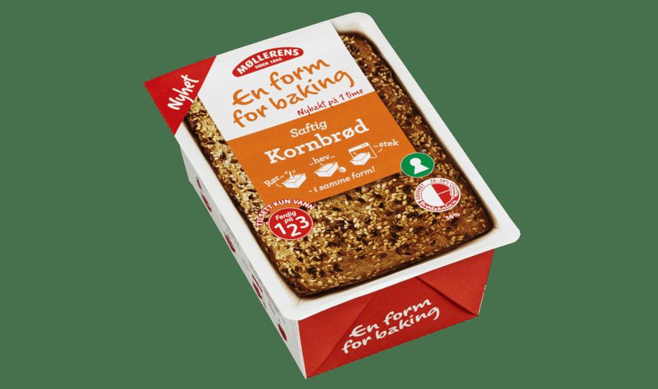 Møllerens Kornbrød - En Form For Baking