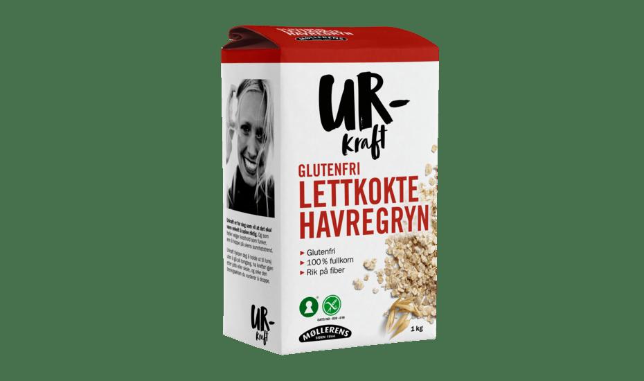 Møllerens Urkraft Glutenfri Havregryn Lettkokte