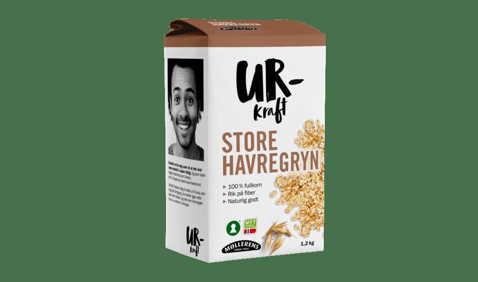Møllerens Urkraft Store Havregryn