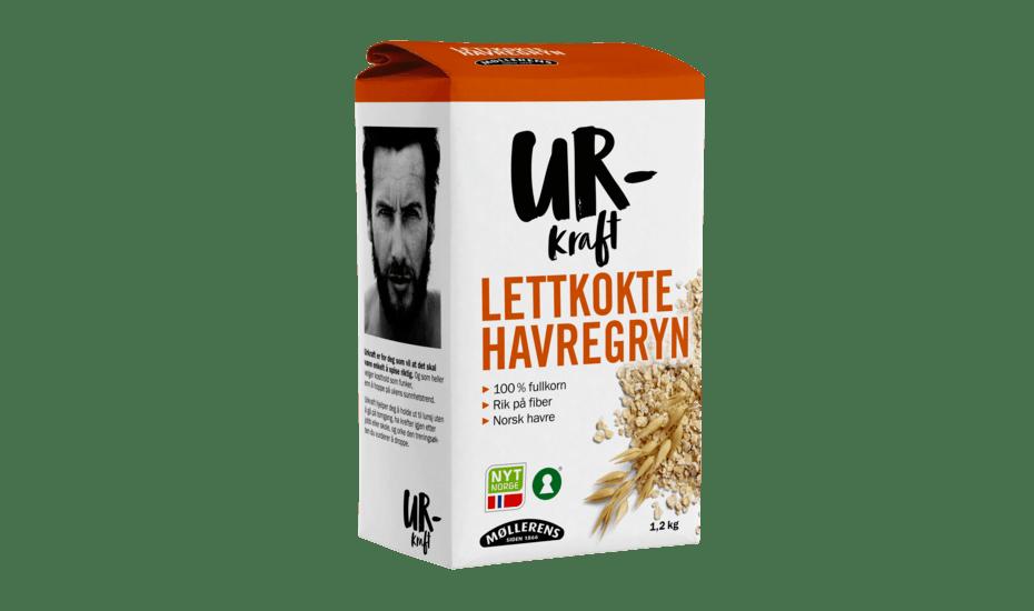 Møllerens Urkraft Lettkokte Havregryn