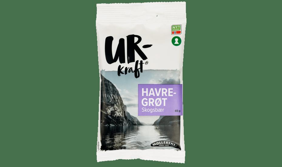 Møllerens Urkraft Havregrøt Skogsbær