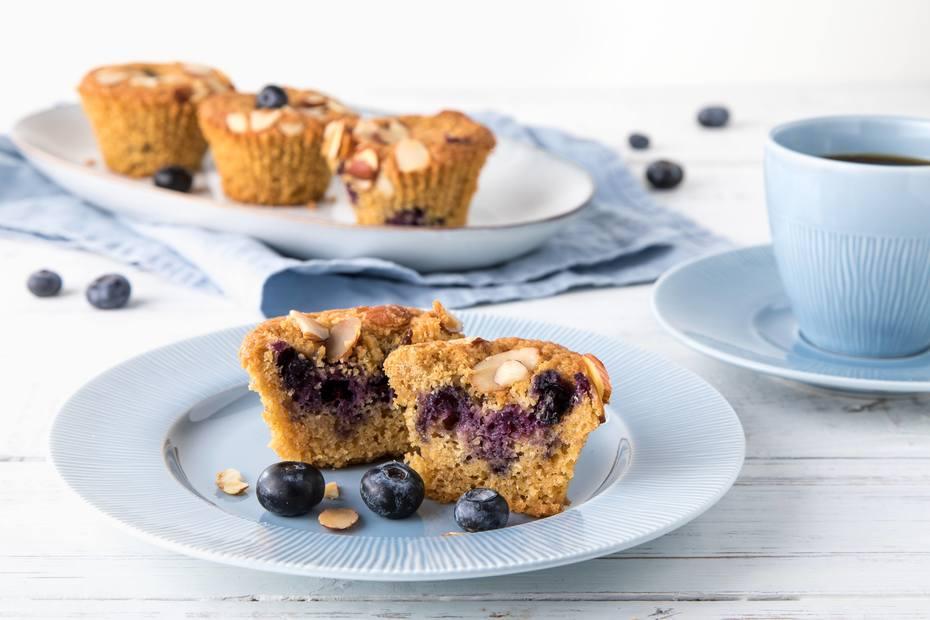 Blåbærmuffins, glutenfri