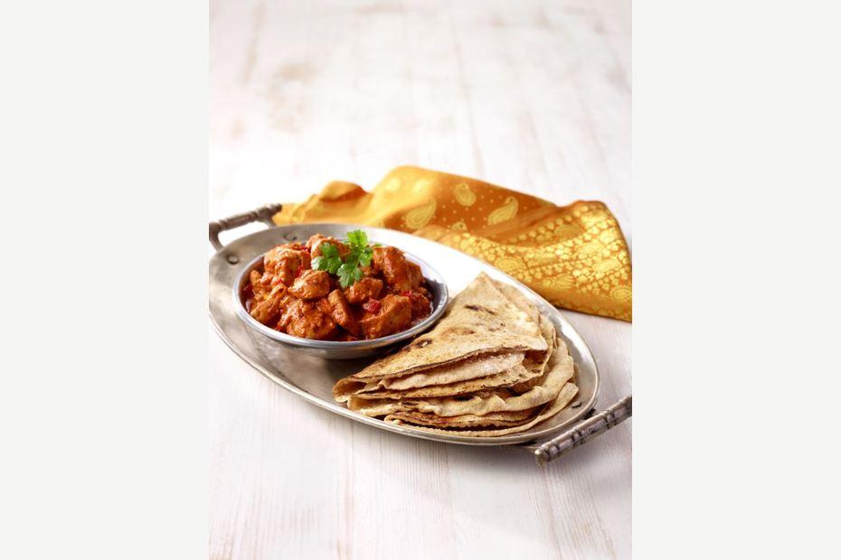 Chapati - Perfekt til indisk mat