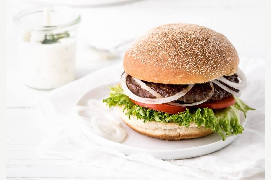 Italienske hamburgerbrød