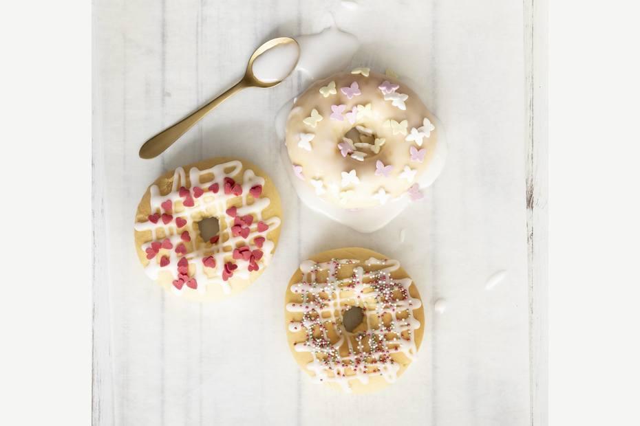 Brioche sommerlige donuts