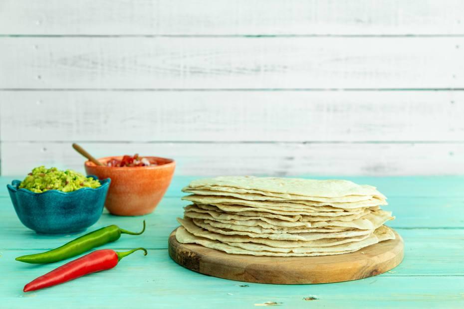 Hjemmelaget tortillas
