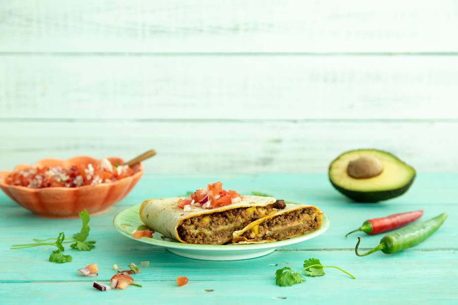 Quesadilla av hjemmelaget tortillas