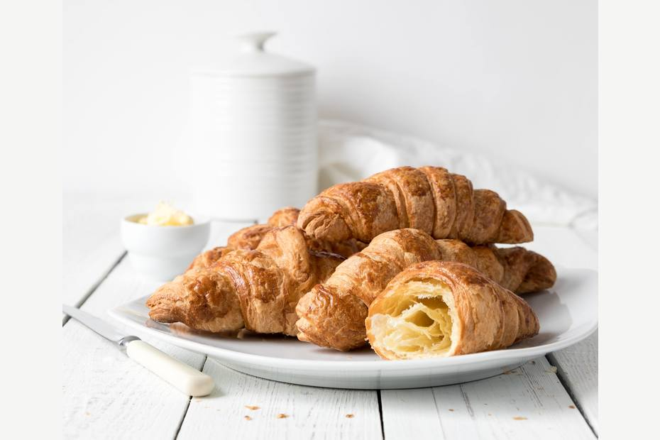 Croissant basert på briochedeig