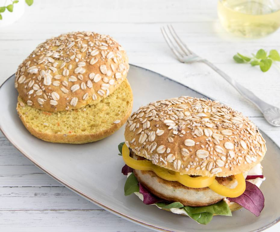 Hamburgerbrød med Mirakel mel