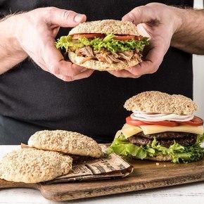 Hamburger- og pølsebrød, glutenfri