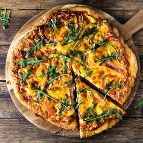 Grov pizzabunn, glutenfri