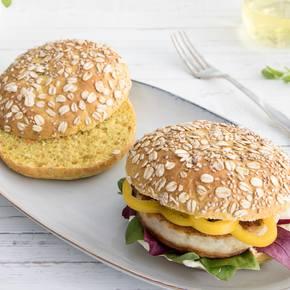 Burgerbolle - perfekt til fisk eller kylling