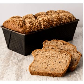Hev brødet i en brødpose