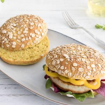 Hamburgerbrød med Mirakelmel