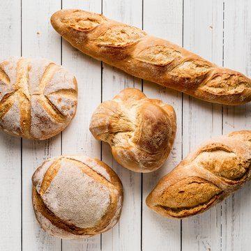 Rustikke brød med Tipo 0