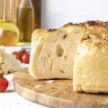 Focaccia bakt med Tipo 0